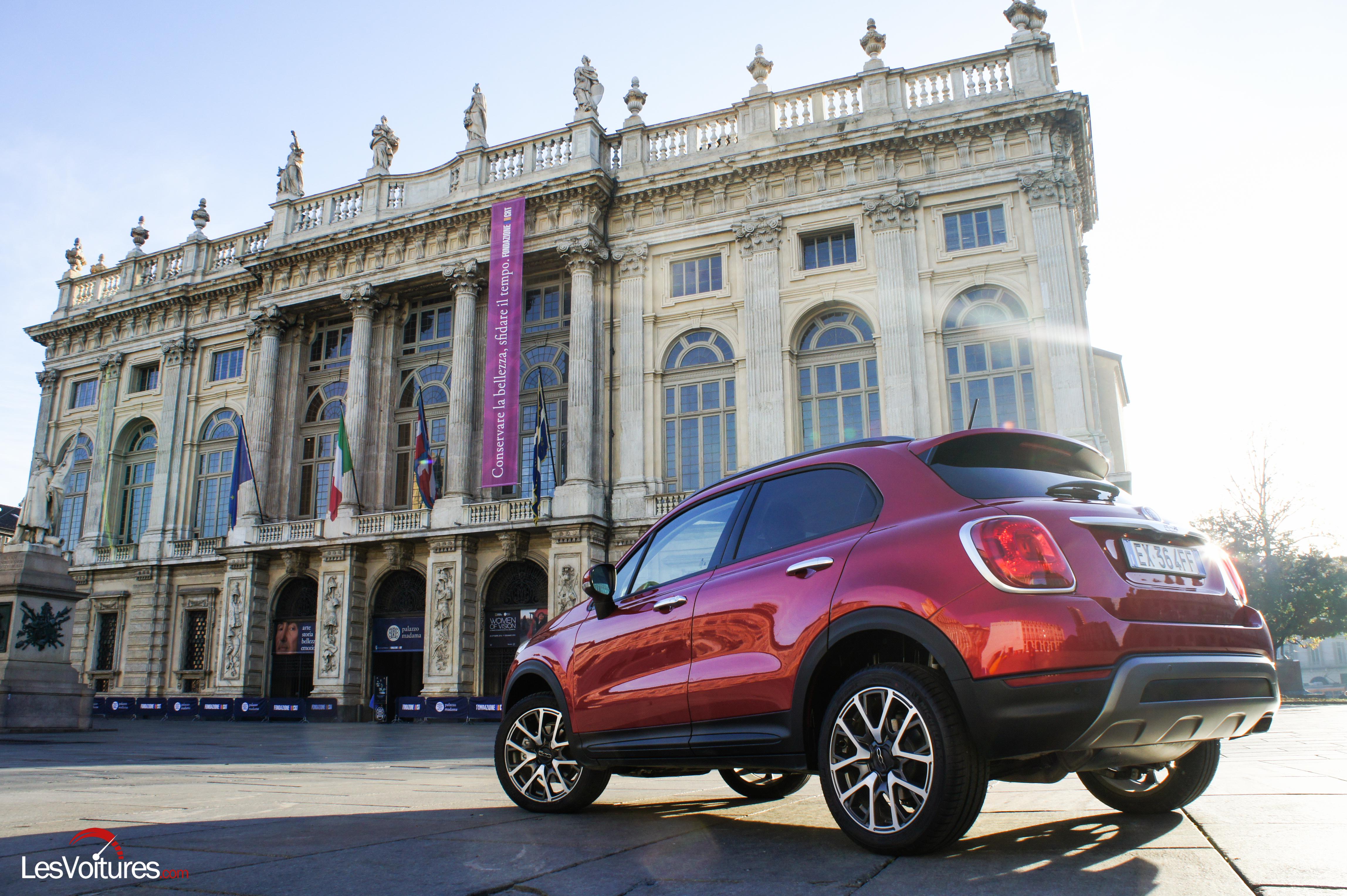 Fiat 500X : l'italienne passe en mode baroudeuse urbaine !