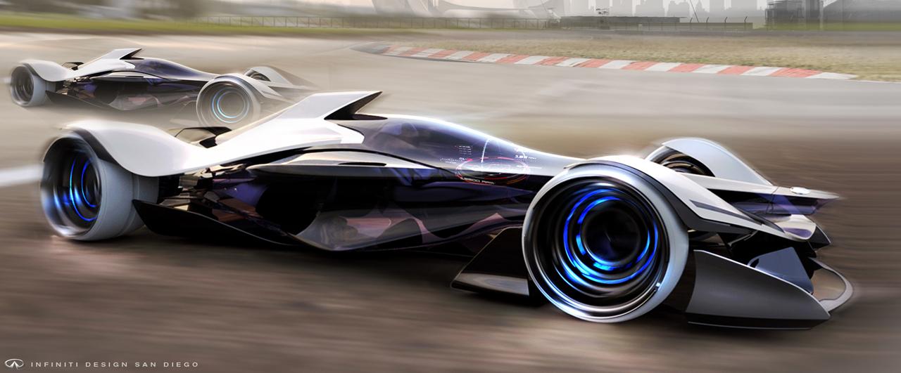 Infiniti Synaptiq Concept : vision futuriste à piloter avec le cerveau…