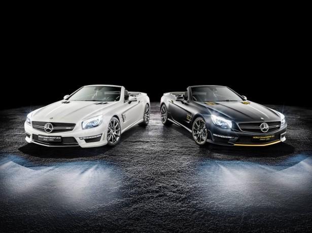 Mercedes-Benz-SL63-AMW-World-Championship-Edition-collectors-edition-rosberg-hamilton-2014-2