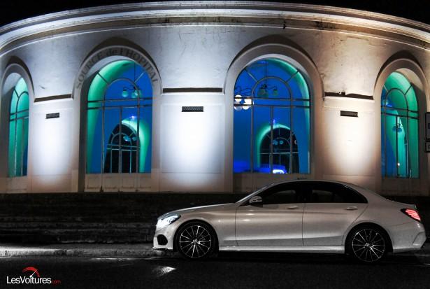 Mercedes-Benz C 220 BlueTEC : l'élégante berline à l'essai de nuit…