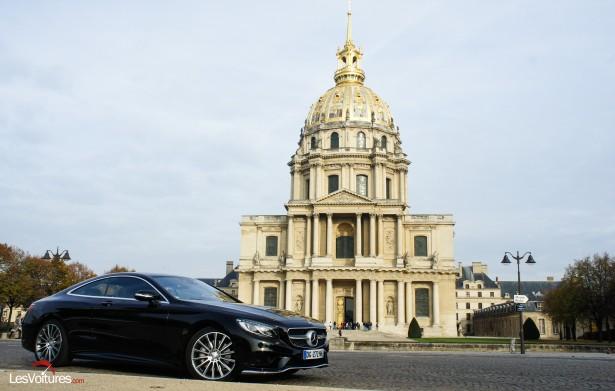 Mercedes-Benz Classe S Coupé : la voluptueuse sportive aux traits familiaux…