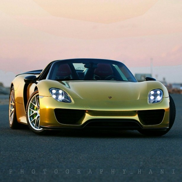Porsche 918 Spyder Une Version Quot Golden Chrome Quot Appara 238 T