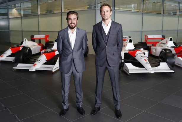 Alonso-Button-McLren-2015-2