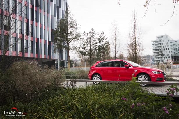 Audi A3 Sportback e-tron : la compacte électriquement polyvalente !