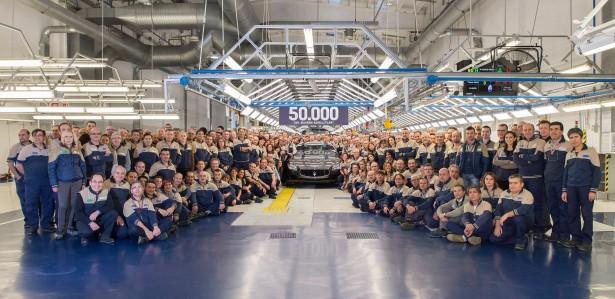 Maserati-usine