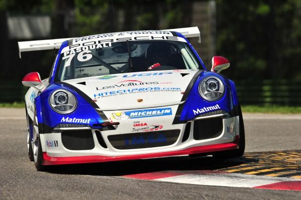 Pasquali-Porsche-Carrera-Cup-France-2014-IMSA-Performance-Matmut-Imola-3-615x409