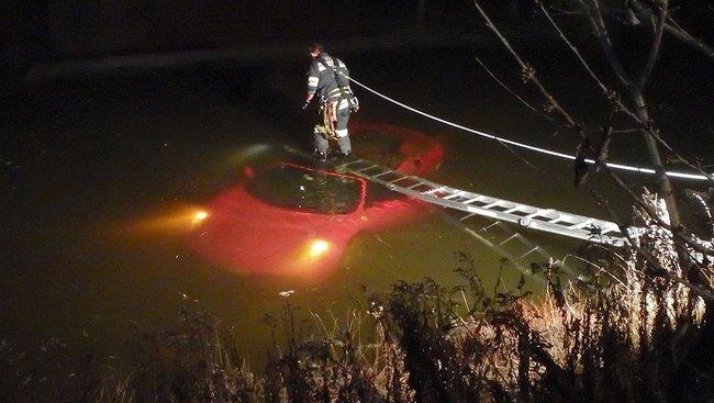 "Ferrari F430 Spider : en mode ""sirène"" suite à un accident insolite"
