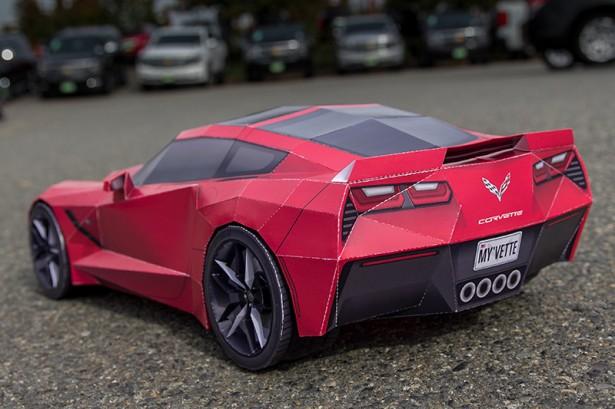 Corvette-Stingray-C7-Papercraft-2