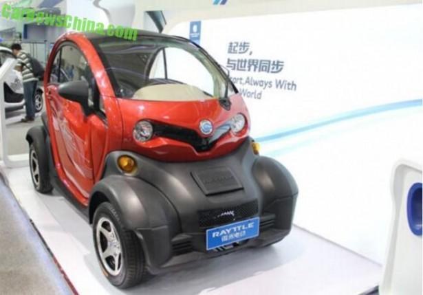 Renault Twizy : la copie chinoise fait son apparition