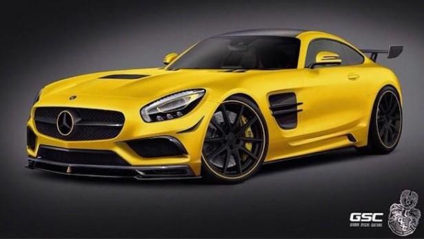 Mercedes-AMG GT : GSC lui donne déjà des airs de Black Series !