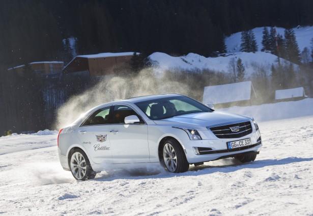 Cadillac-Winter-Drive Experience-cts-v-ats-v-6