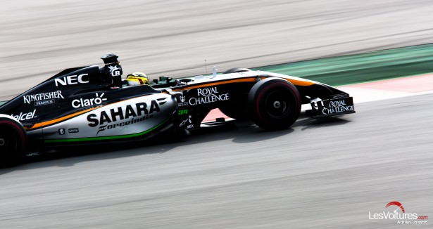 Formule-1-tests-Barcelone-2015-Force-India-33