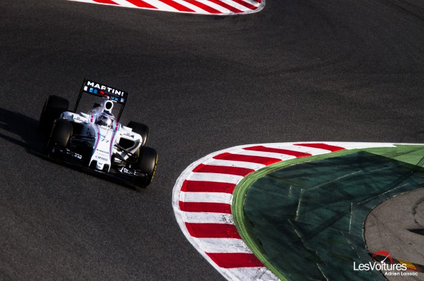 Formule-1-tests-Barcelone-2015-Williams-Martini