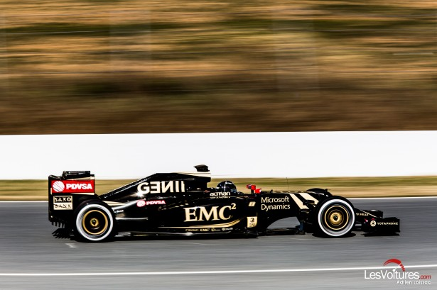 Formule-1-tests-Barcelone-2015-lotus