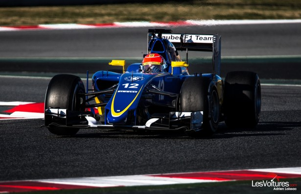 Formule-1-tests-Barcelone-2015-sauber