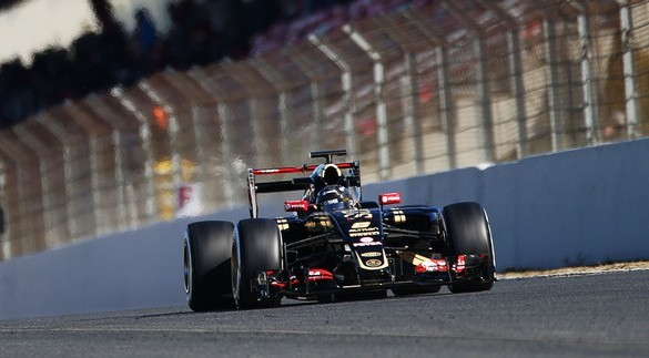 lotus-f1-team-e23-Barcelone-romain-grosjean-2015