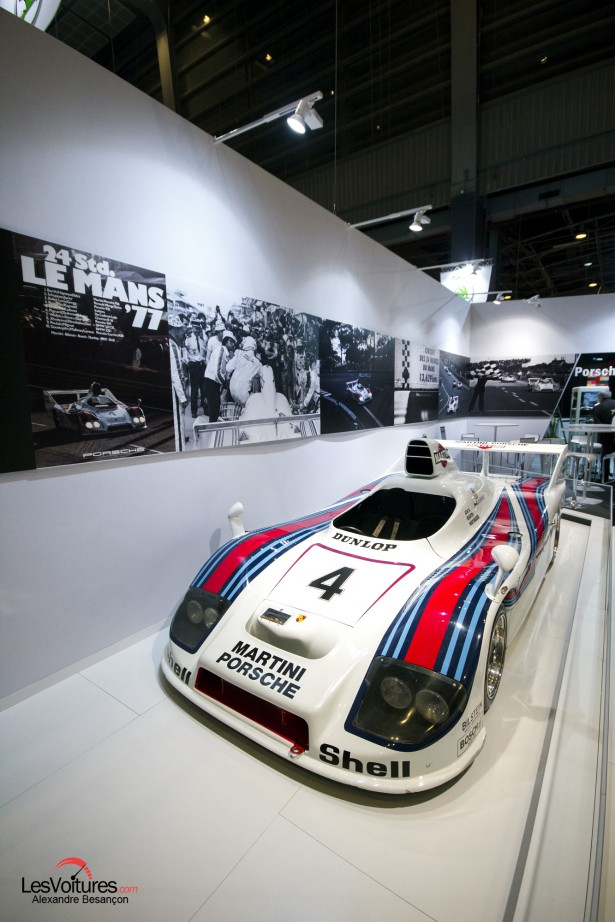 photos-salon-rétromobile-2015-Porsche-Martini-24-Heures-du-Mans-1977