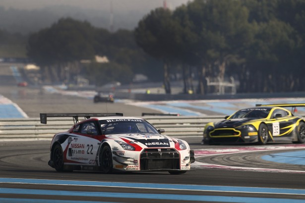 Blancpain Endurance Series 2015 test days Paul Ricard