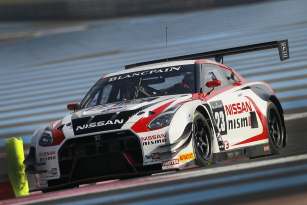 Blancpain Endurance Series 2015test days Paul Ricard