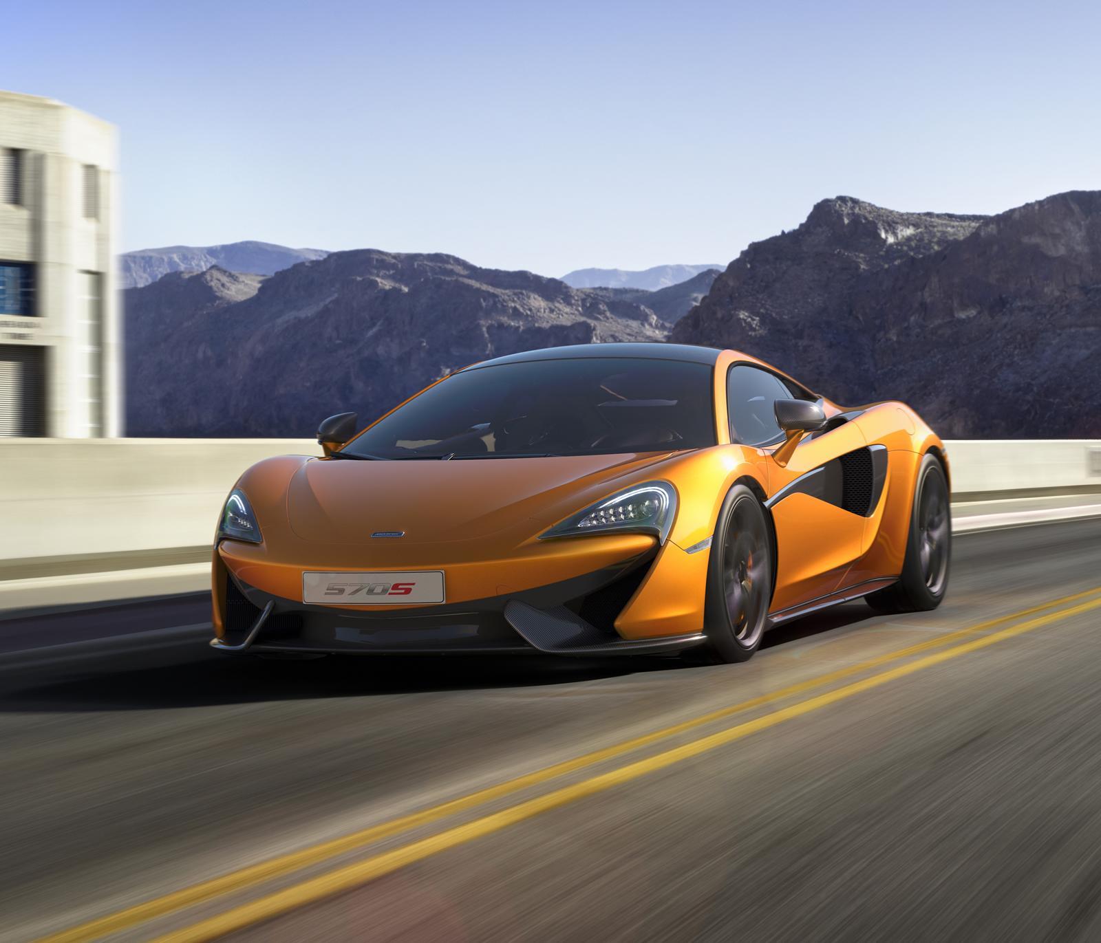 2017 Mclaren 570s Camshaft: McLaren 570S Coupé : La Nouvelle Première Dame Du Royaume