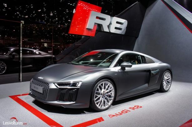 Audi R8 : les photos du salon de Genève…