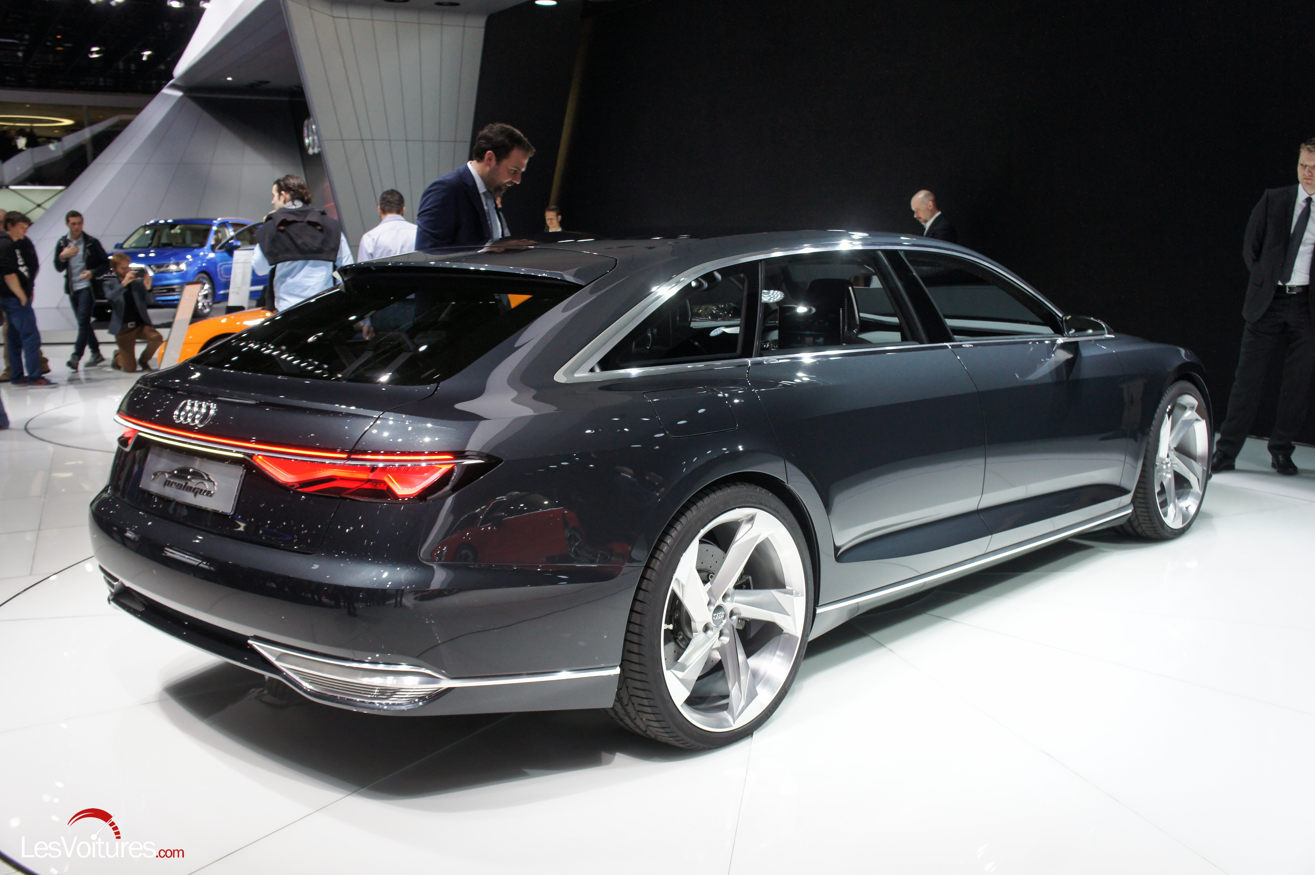 salon gen ve 2015 175 audi avant prologue concept a9 les voitures. Black Bedroom Furniture Sets. Home Design Ideas