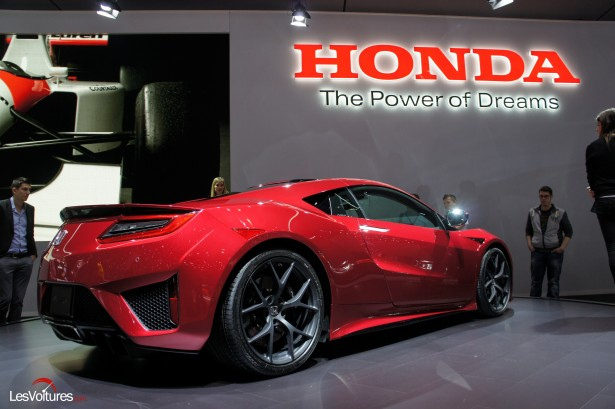 honda nsx ii 580 chevaux au programme c 39 est officiel les voitures. Black Bedroom Furniture Sets. Home Design Ideas