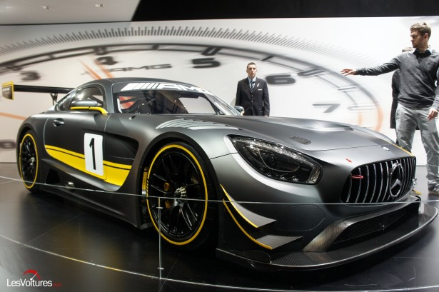 Mercedes amg gt3 les photos du salon de gen ve les for Salon de prostitution geneve