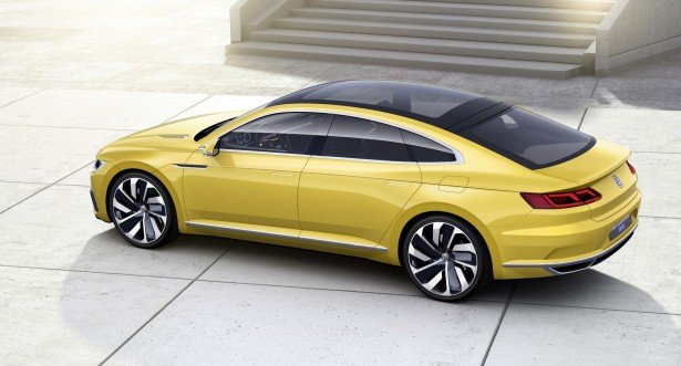 volkswagen sport coup concept gte pr misse de la future passat cc les voitures. Black Bedroom Furniture Sets. Home Design Ideas