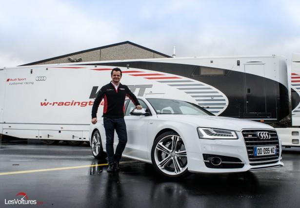 Blancpain Endurance Series : notre pilote essayeur Laurent Pasquali chez WRT !