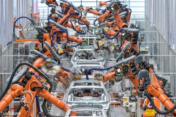 Audi : présentation de l'usine aux technologies futuristes…