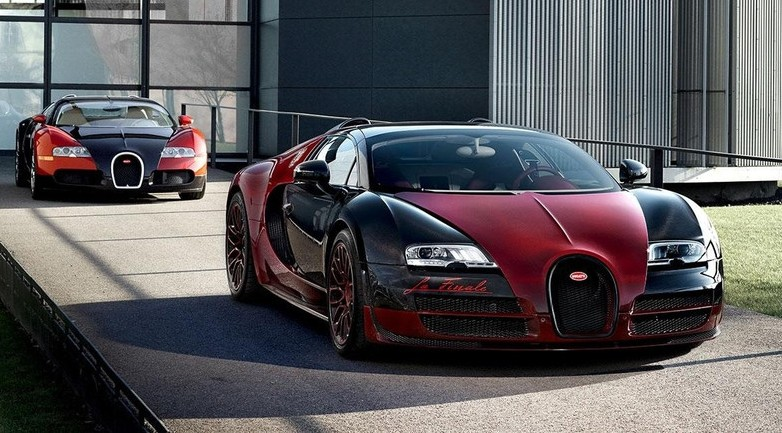 bugatti veyron la finale la derni re d une l gende les voitures. Black Bedroom Furniture Sets. Home Design Ideas