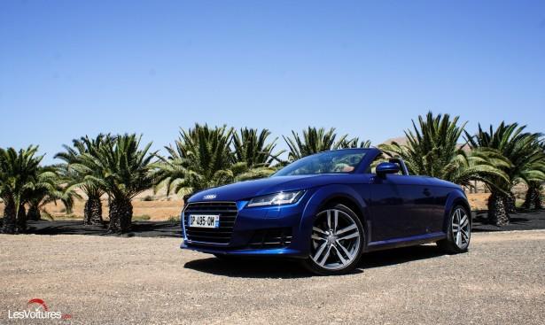 Audi TTS & Roadster : double essai pour deux entrées réussies !