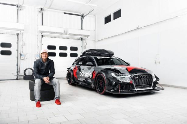Audi RS 6 Avant DTM : 1 000 ch, Jon Olsson prêt pour le Gumball 3000 !