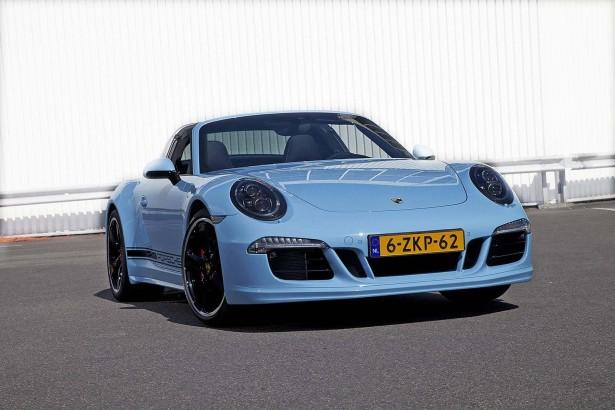 Porsche 911 Targa 4S Exclusive Edition : 15 exemplaires seulement !