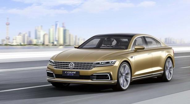 Volkswagen C Coupé GTE Concept : pour séduire le marché chinois…