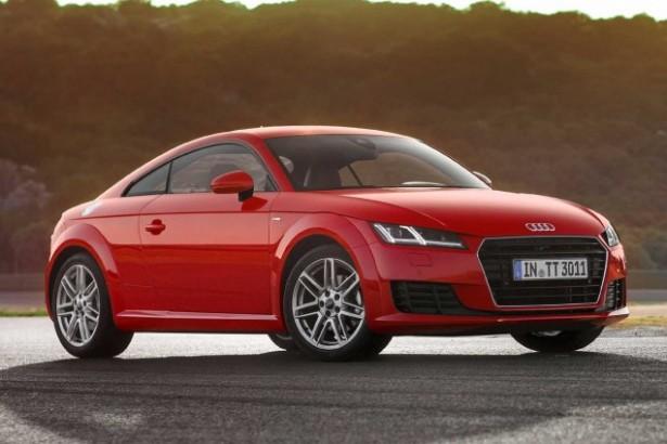 Audi TT : un nouveau moteur pour une entrée de gamme accessible…