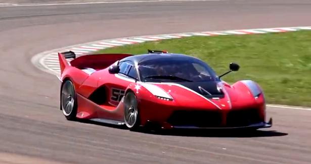 Vidéo : la furie de la Ferrari FXX K sur la piste de Fiorano !