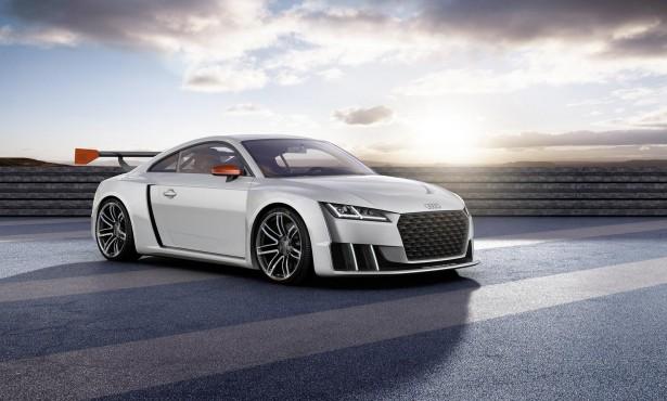 Audi TT clubsport turbo concept : 600 chevaux grâce à l'e-turbo !