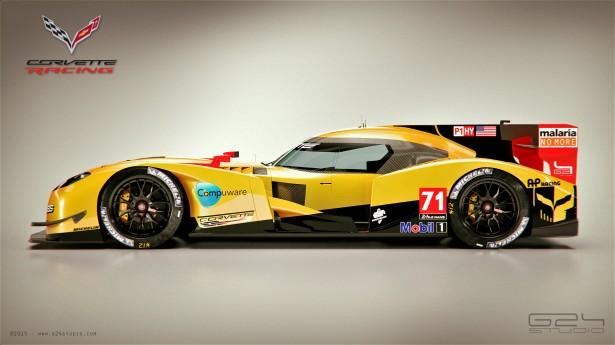 Chevrolet Corvette LMP1 Concept