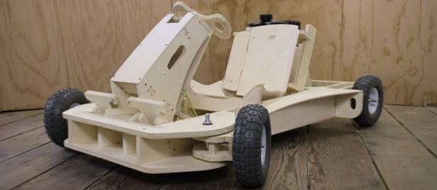 Kart : PlyFly, l'insolite modèle en bois à monter soi-même