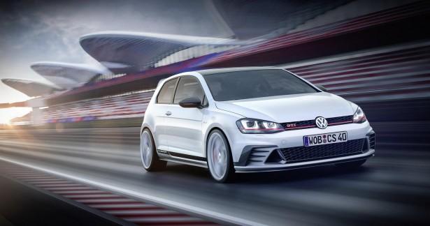 Volkswagen Golf GTI Clubsport : beaucoup plus qu'un concept-car…