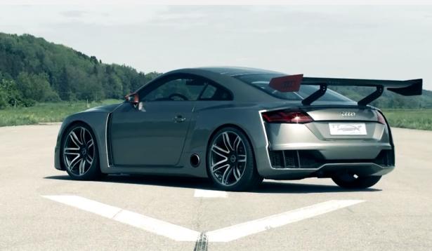 Vidéo: l'Audi TT clubsport turbo concept en action !