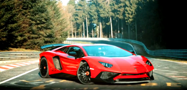 video-Lamborghini-Aventador-LP-750-4 SV-Nurburgring