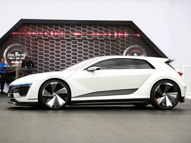 Volkswagen Golf GTE Sport Concept : la compacte hybride du futur…