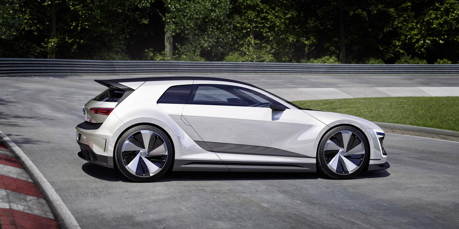 volkswagen golf gte sport concept 2015 8 les voitures. Black Bedroom Furniture Sets. Home Design Ideas