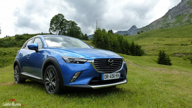 Mazda CX-3 : crossover ascensionnel, essai…