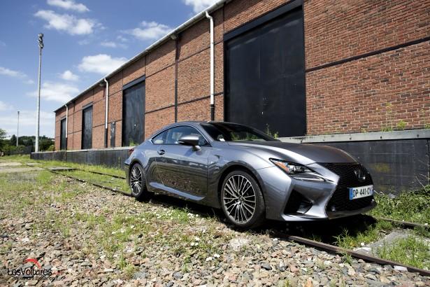 Lexus RC F : le puissant coupé japonais à l'essai !