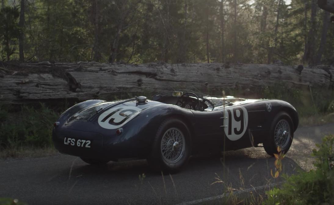 Jaguar Type C Lightweight Le Mans