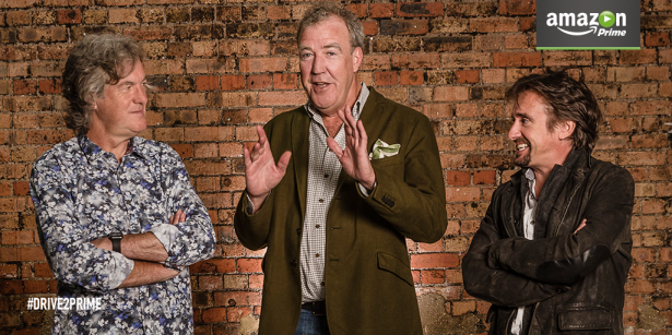 Top Gear UK : le trio Clarkson/Hammond/May sur Amazon Vidéo en 2016